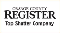 Orange County Register - Top Shutter Company