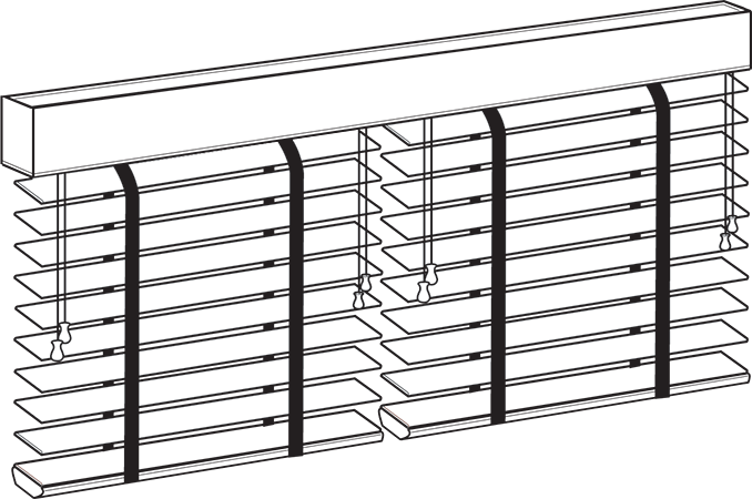 Multi-Blind Rail Blinds